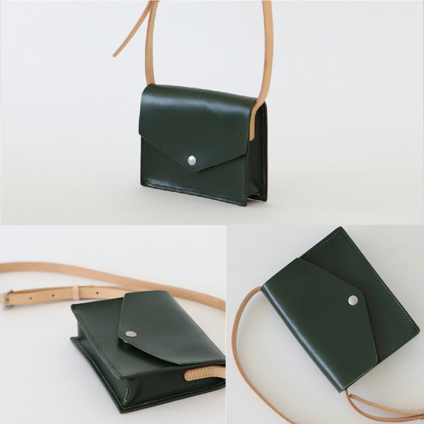 Womens Small Leather Crossbody Bags Purses Leather Shoulder Bags for Women Details
