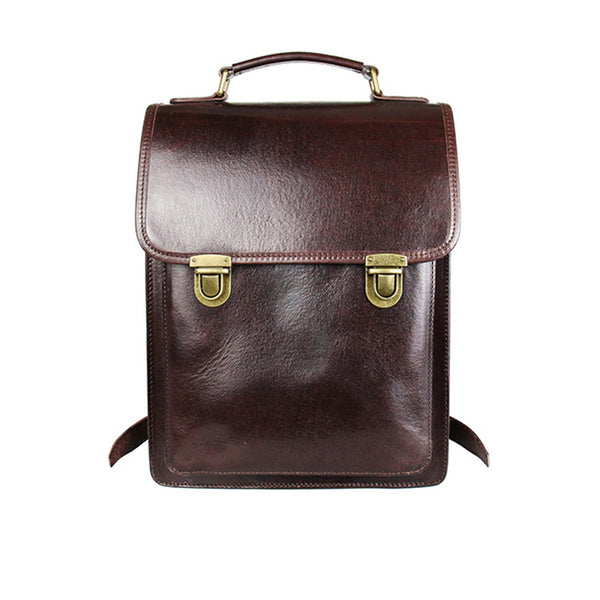 Womens Square Leather Fashion Backpack Trendy Backpacks Book Bag Purse for Women Chic