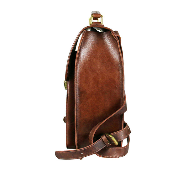 Womens Square Leather Fashion Backpack Trendy Backpacks Book Bag