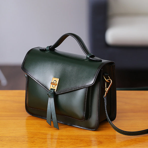 Womens Square Leather Satchel Bags Purses Handbags for Women best
