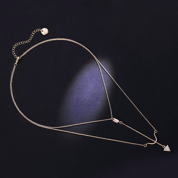 Y Necklace Gold Fashion Jewelry Accessories Women