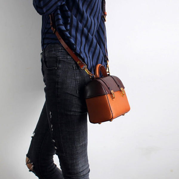 vintage Handmade Leather Crossbody Shoulder Bags Case Purses Accessories Gifts Women beautiful