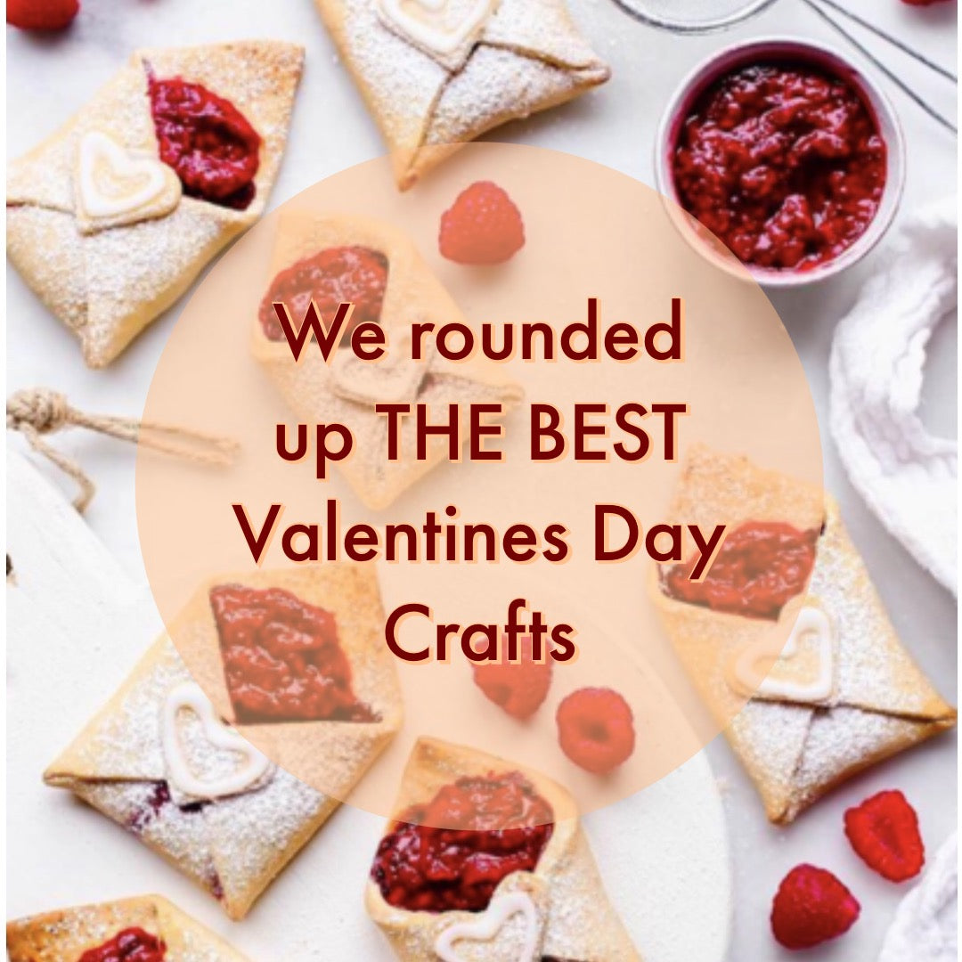 Mini-Valentine's Day crafts for your mini-humans
