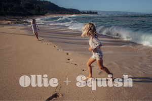Ollie and Squish Kids Bathingsuits