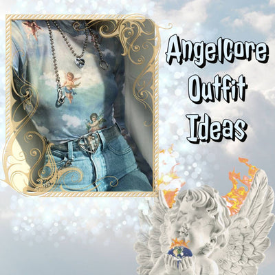 Aesthetic Angelcore Outfit Ideas
