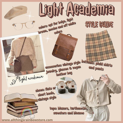 Light Academia Outfits | Style Guide