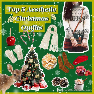Top 5 Aesthetic Christmas Outfits