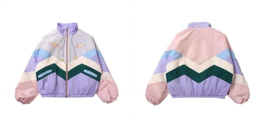 90's Aesthetic Windbreaker