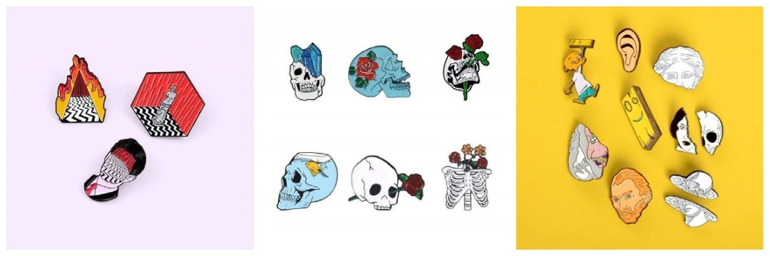 aesthetic backpack pins