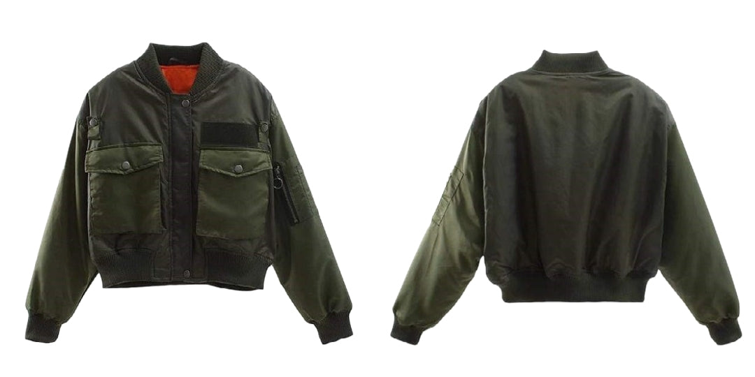 army girl jacket