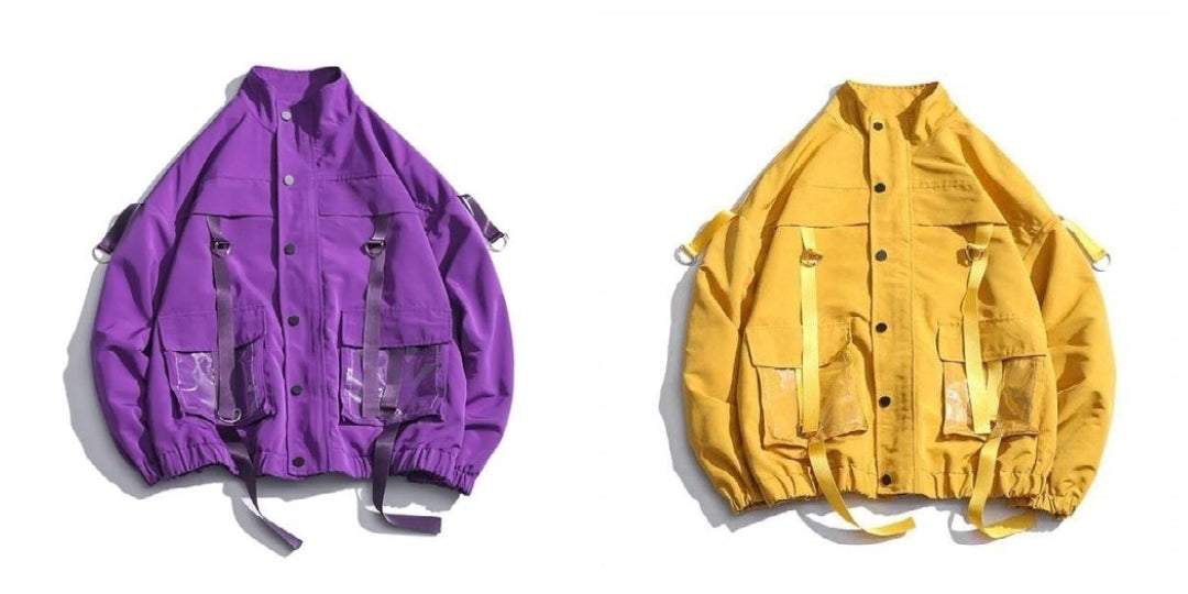 See-Through Pockets jacket