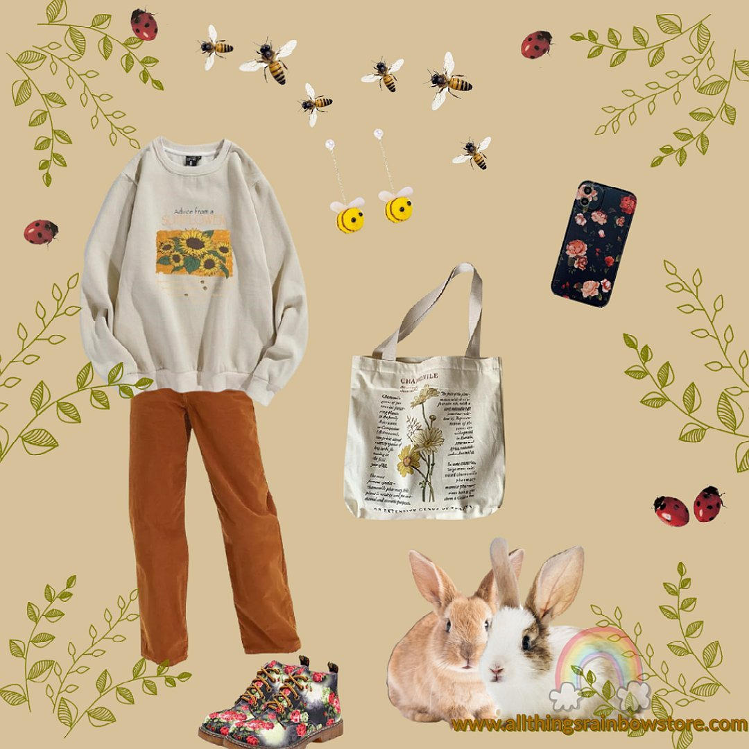 cottagecore aesthetic outfit