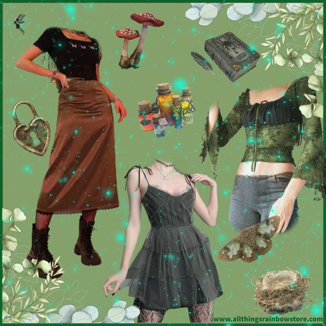 grunge fairycore outfits