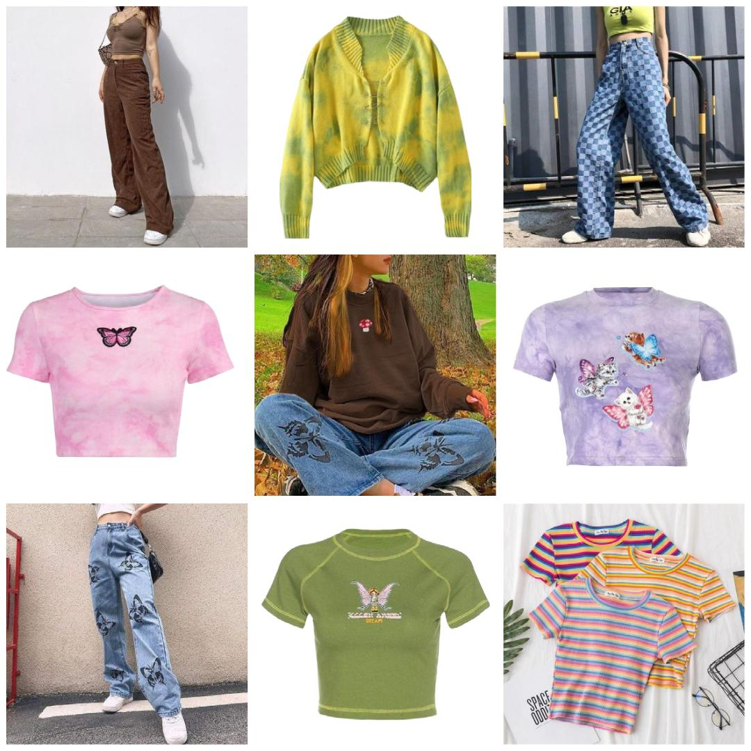 indie aesthetic clothes