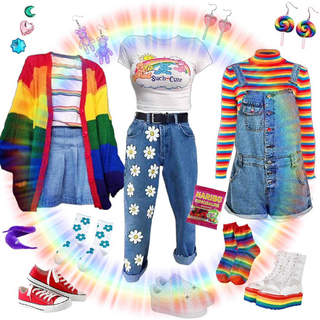kidcore aesthetic outfits