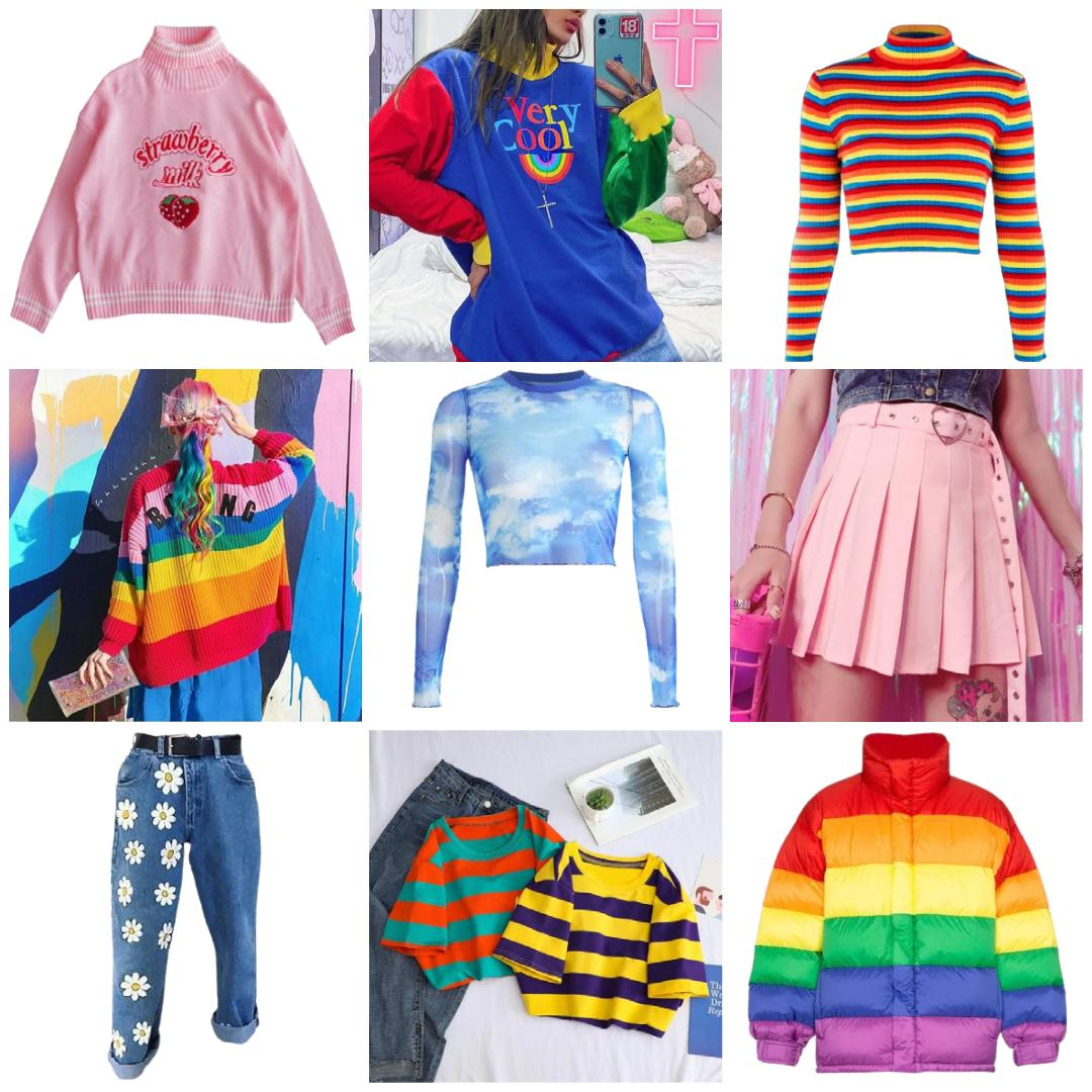 kidcore clothes