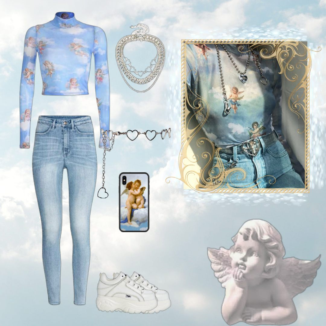 angelcore outfit