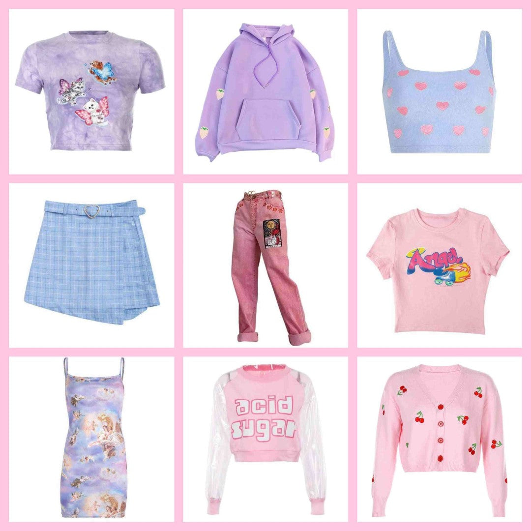 soft girl clothes