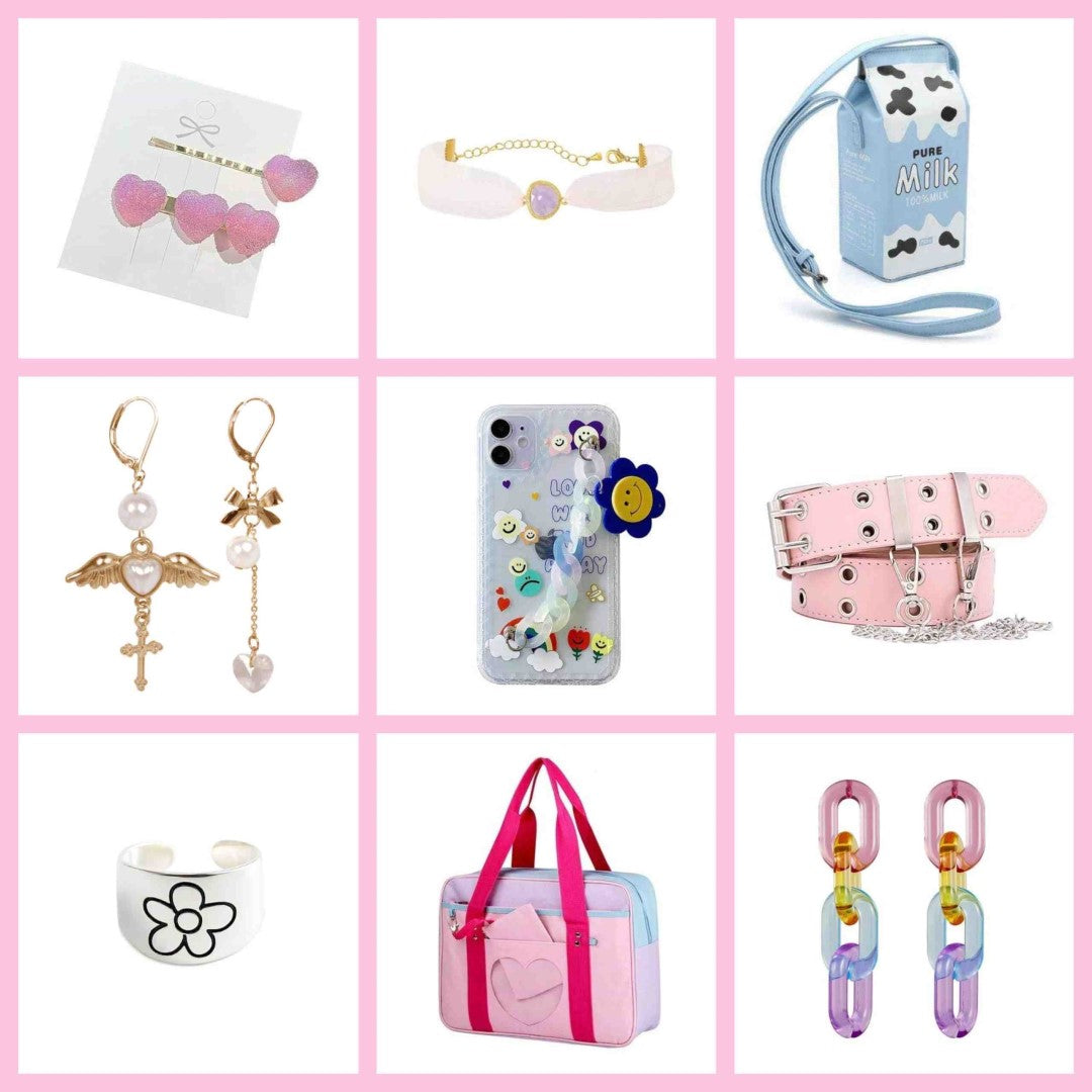 soft girl accessories
