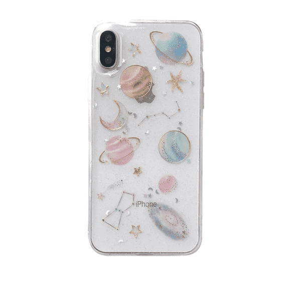 Transparent Planet IPhone Case - All Things Rainbow