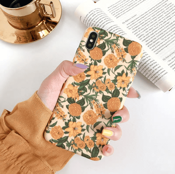 Vintage Flowers IPhone Case - All Things Rainbow