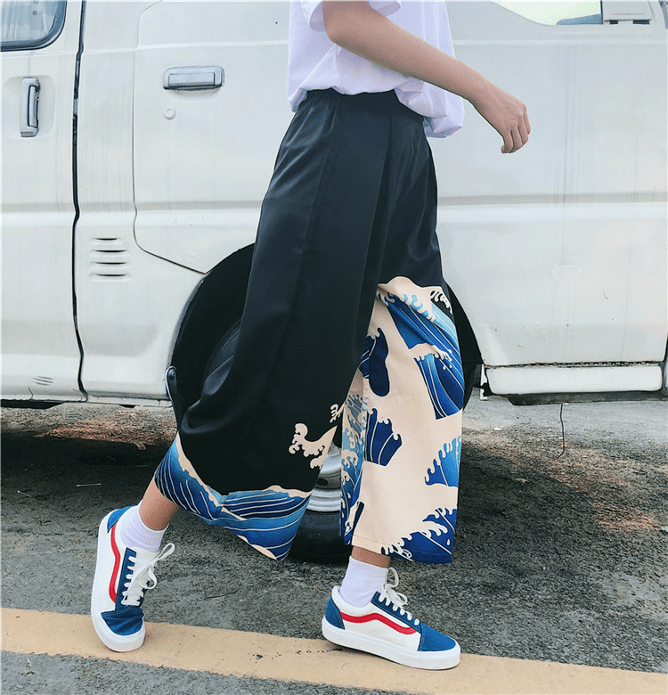 Blue Waves Pants - All Things Rainbow