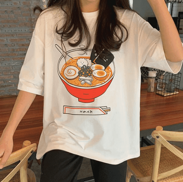 Ramen Noodles T shirt - All Things Rainbow