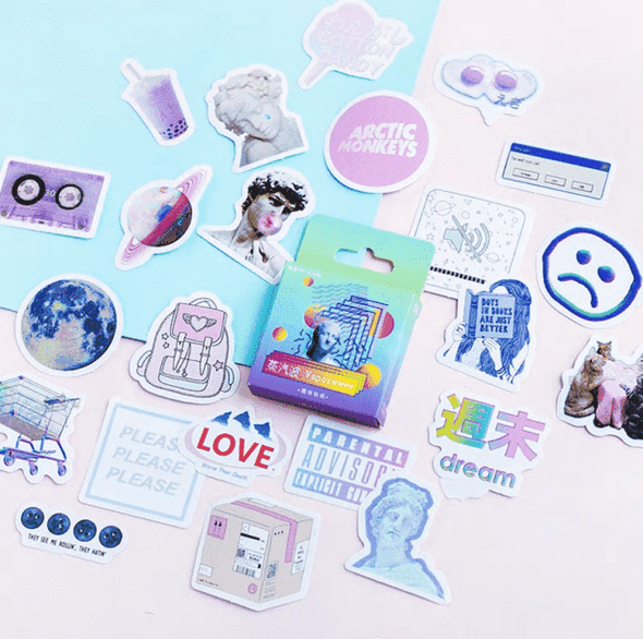 Tumblr Vaporwave Stickers - All Things Rainbow