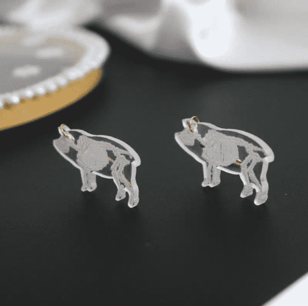 Skeleton Animals Earrings - All Things Rainbow
