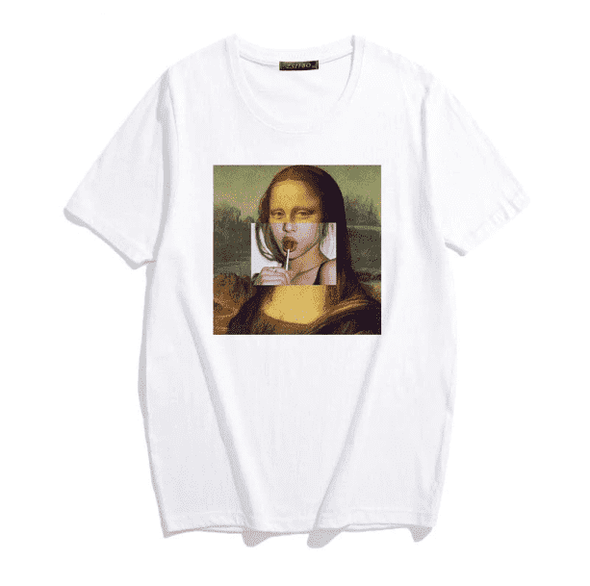 Mona Lisa T Shirt - All Things Rainbow