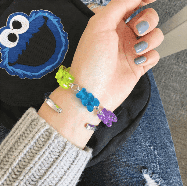 Gummy Bear Bracelet - All Things Rainbow