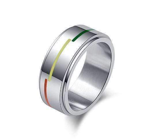 Rainbow Crystal Ring - All Things Rainbow