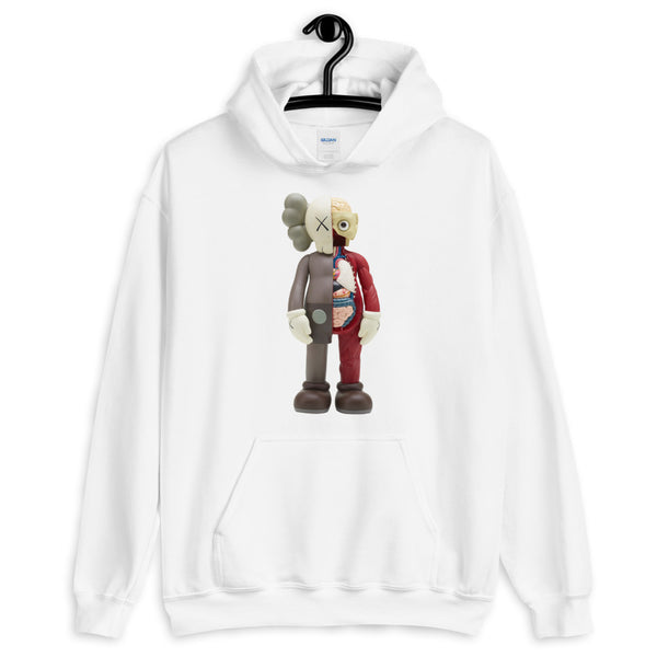 various styles various colors official photos KAWS x Uniqlo Flayed Hooded Sweatshirt - Kaws is One ? Always Be ...