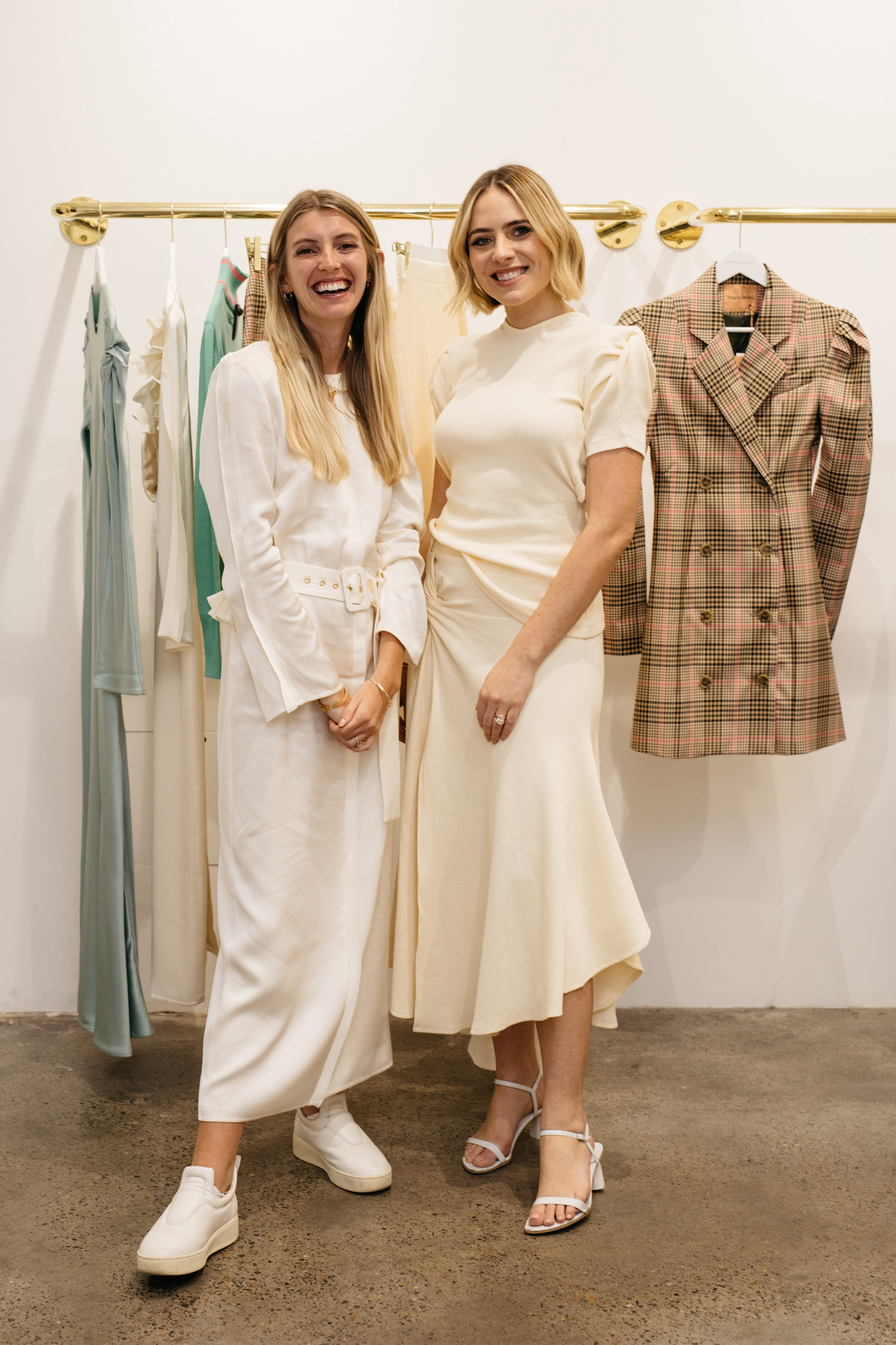 maggie marilyn and deborah symond o'neil in mode sportif double bay flagship
