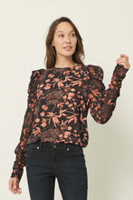 Load image into Gallery viewer, Lara Peonies Blouse