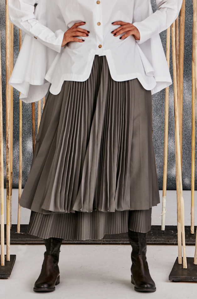 Pleating Moments Skirt