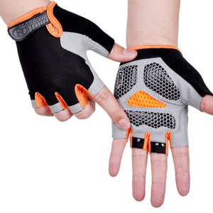 Unisex Half Finger Cycling Gloves