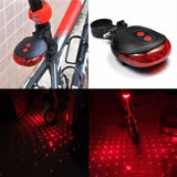 Waterproof Bicycle Tail Light