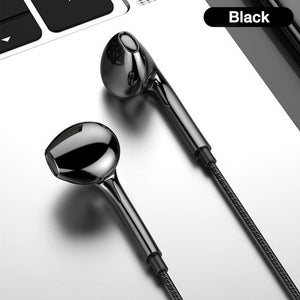 3.5mm Wired Headphones With Bass Earbuds