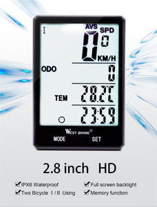 WEST BIKING Cycling Speedometer