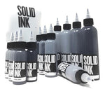 Set Opaque Grey (1oz) Solid Ink