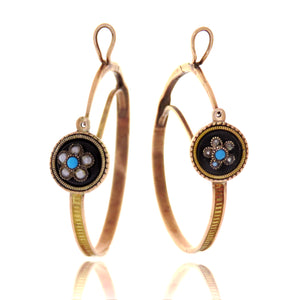 15ct Regency Hoop Earrings