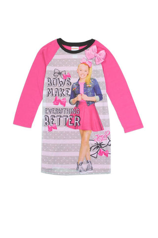 Girls jojo siwa 4-10 nightgown