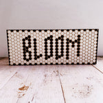 Bloom Penny Tile Wood Sign