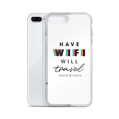 Have wifi will travel. iPhone Case