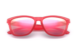 Ackton - Wayfarer, Matt red - macapa-sunglasses