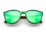 Santana - Emerald, Walnut - macapa-sunglasses