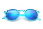 Tribeca - Rounded, Blue - macapa-sunglasses