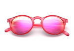Tribeca - Rounded, Red - macapa-sunglasses