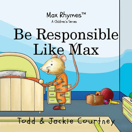 Be Responsible Like Max Board Book (Ages 0-4)